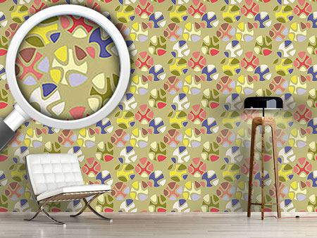 Design Wallpaper Candy Green