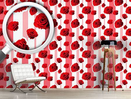 Design Wallpaper Red roses