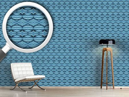 Design Wallpaper Blue Wonderland