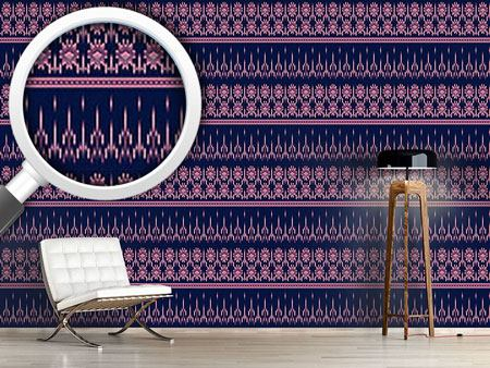 Design Wallpaper Latin Ikat