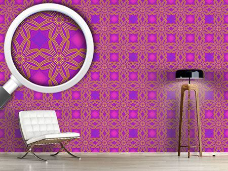 Design Wallpaper A Floral Line