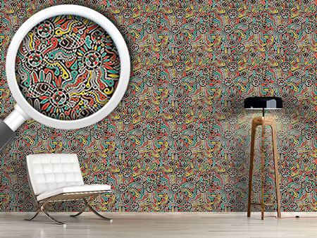 Design Wallpaper Tadpole And Fish In Africa