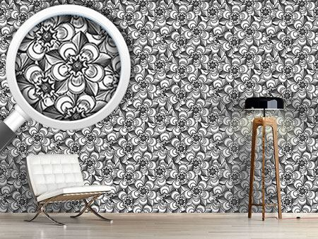 Design Wallpaper Immortal Flowers