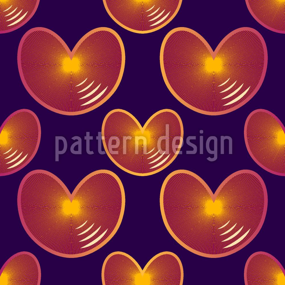 Design Wallpaper Echo Hearts
