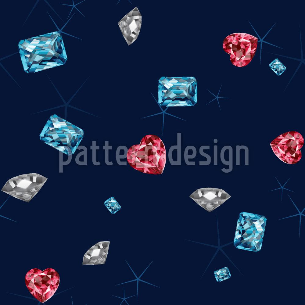 Carta da parati Bling Bling Diamonds