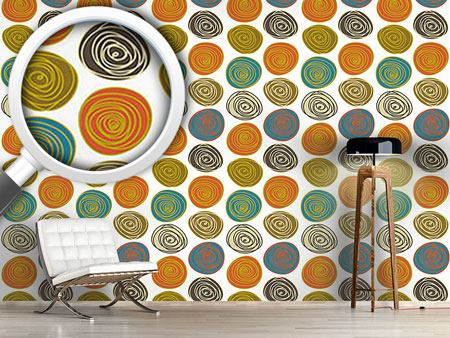 Design Wallpaper Stone Circles