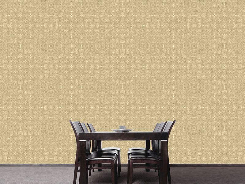 Design Wallpaper Sheer Flower Fantasy