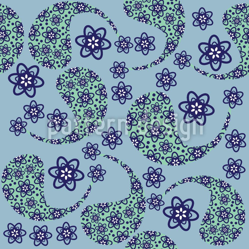 Design Wallpaper Cool Paisley Dance