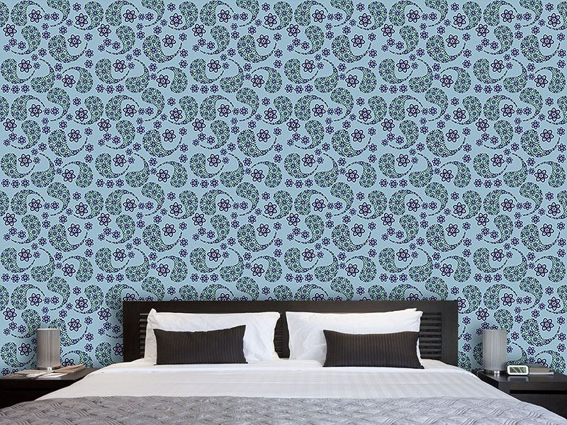 Papier peint design Cool Paisley Dance