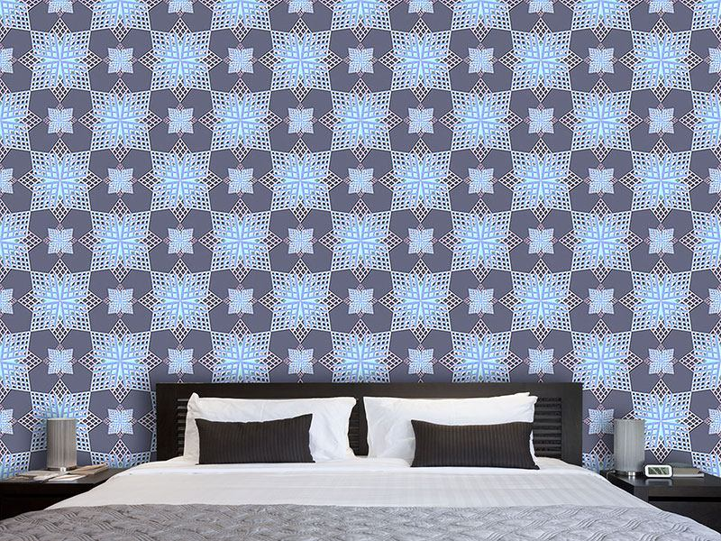 Design Wallpaper Grid Stars