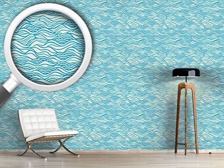 Papier peint design They Dreamed Of Gentle Ocean Waves