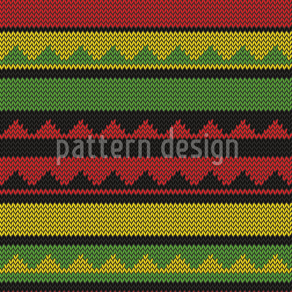 Design Wallpaper Ethno Knit