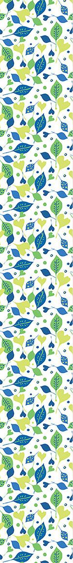 Papier peint design Cheerful Leaf Mix