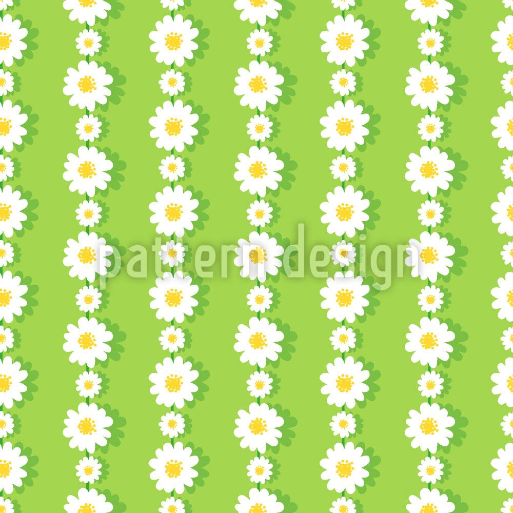 Papier peint design Daisies In Chaines