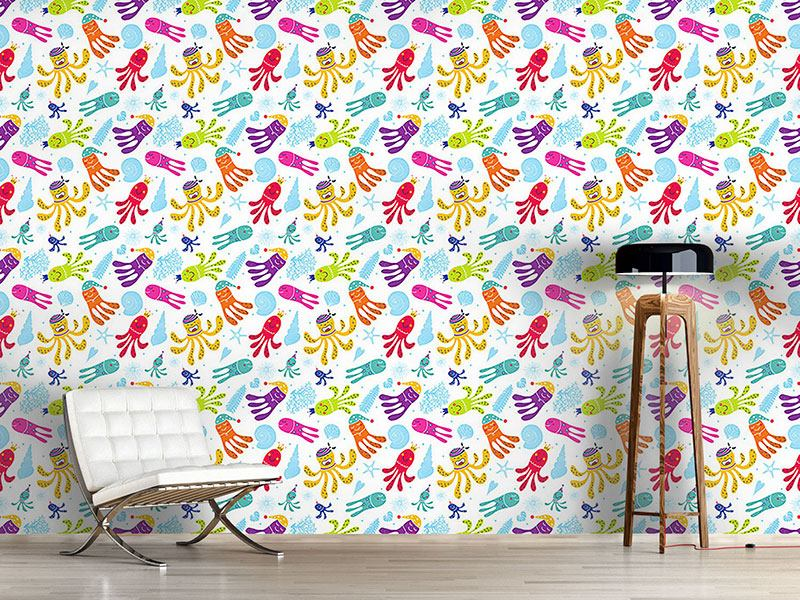 Design Wallpaper Carnival Of The Octopus