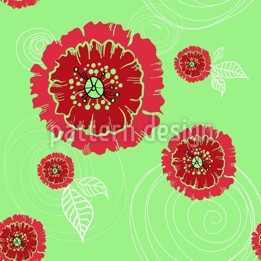 Design Wallpaper Poppies