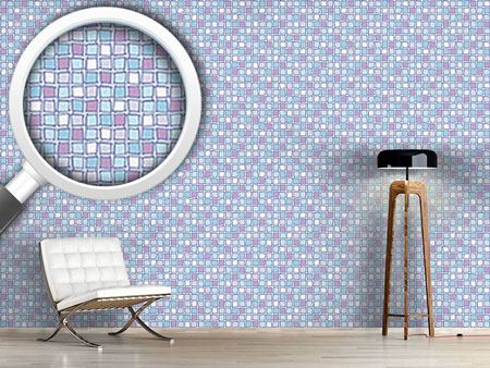 Carta da parati Mosaic Glass Tiles