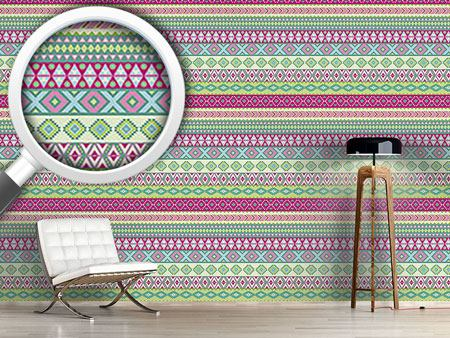 Design Wallpaper Modern Ethno