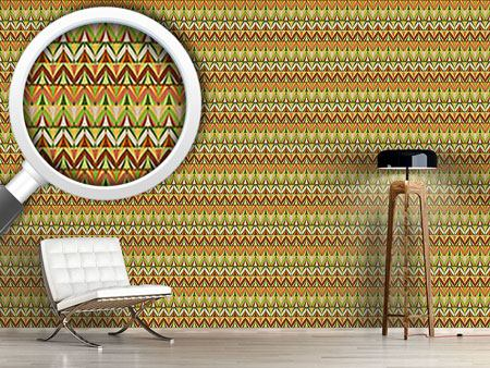 Design Wallpaper Chevron Rows