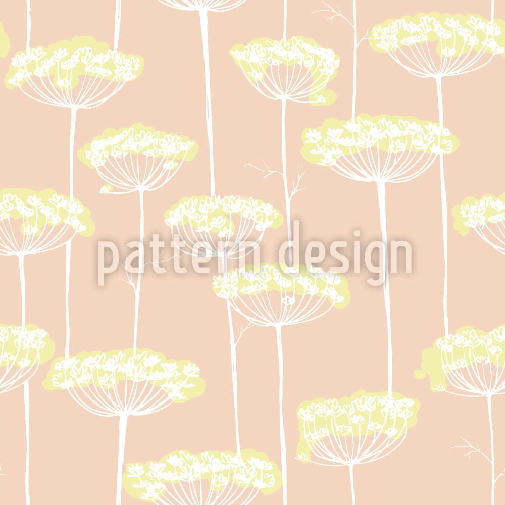 Papier peint design Fennel Blossoms