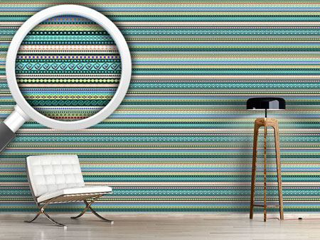 Design Wallpaper Ethnic Influence