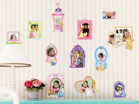 Wall Sticker Photo Frame Kids