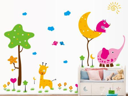 Wall Sticker Cute animals