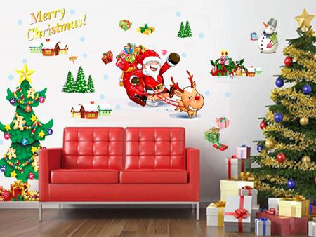 Sticker muraux Christmas