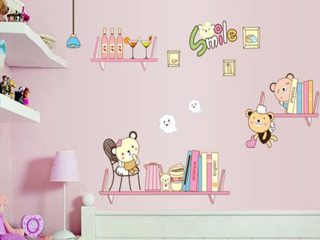 Wall Sticker Sweet Bookshelves