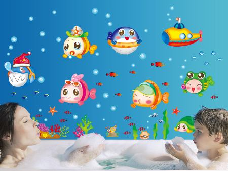 Wall Sticker Baby Fish