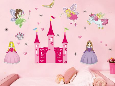 Wall Sticker Princess Castle