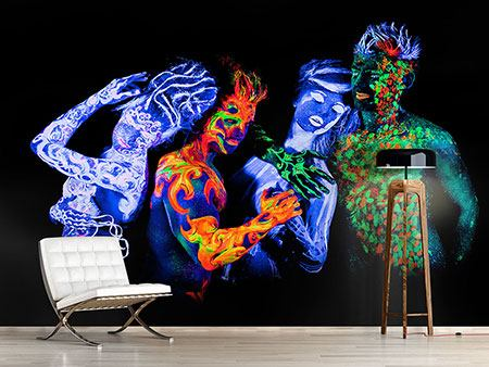 Photo Wallpaper Bodypainting