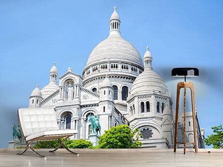 Photo Wallpaper Paris- Montmartre