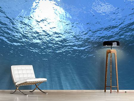 Photo Wallpaper Sunbeams Underwater