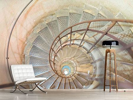 Photo Wallpaper Spiral Staircase