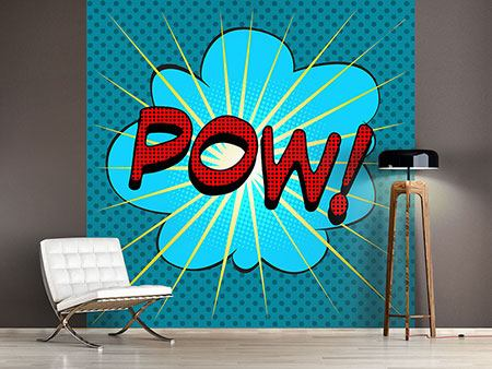 Photo Wallpaper Pop Art Pow