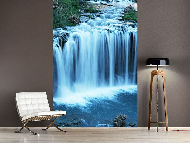 Photo Wallpaper At Waterfall