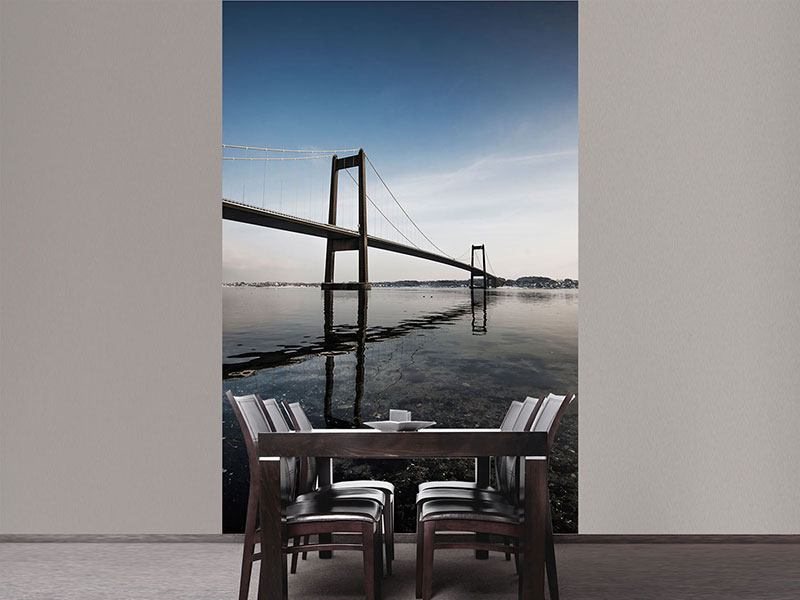 Photo Wallpaper Modern Bridge