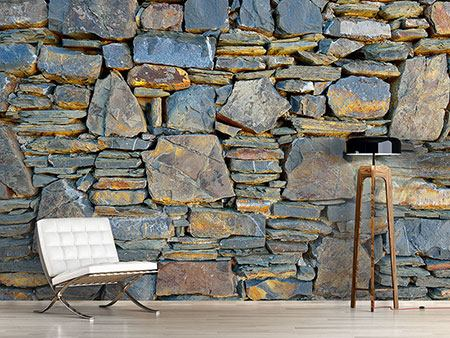 Photo Wallpaper Natural Stone Wall