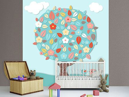 Photo Wallpaper The Nursery Tree
