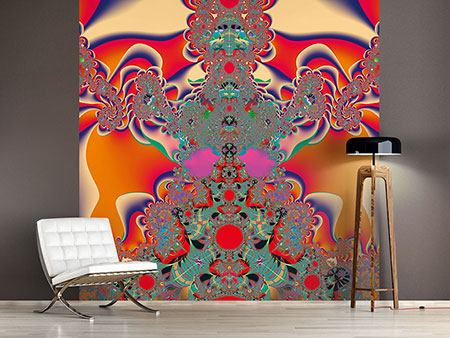 Photo Wallpaper Psychedelic Fractal Art