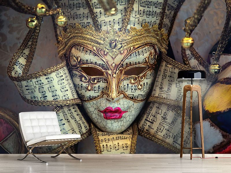 Photo Wallpaper Venetian Mask